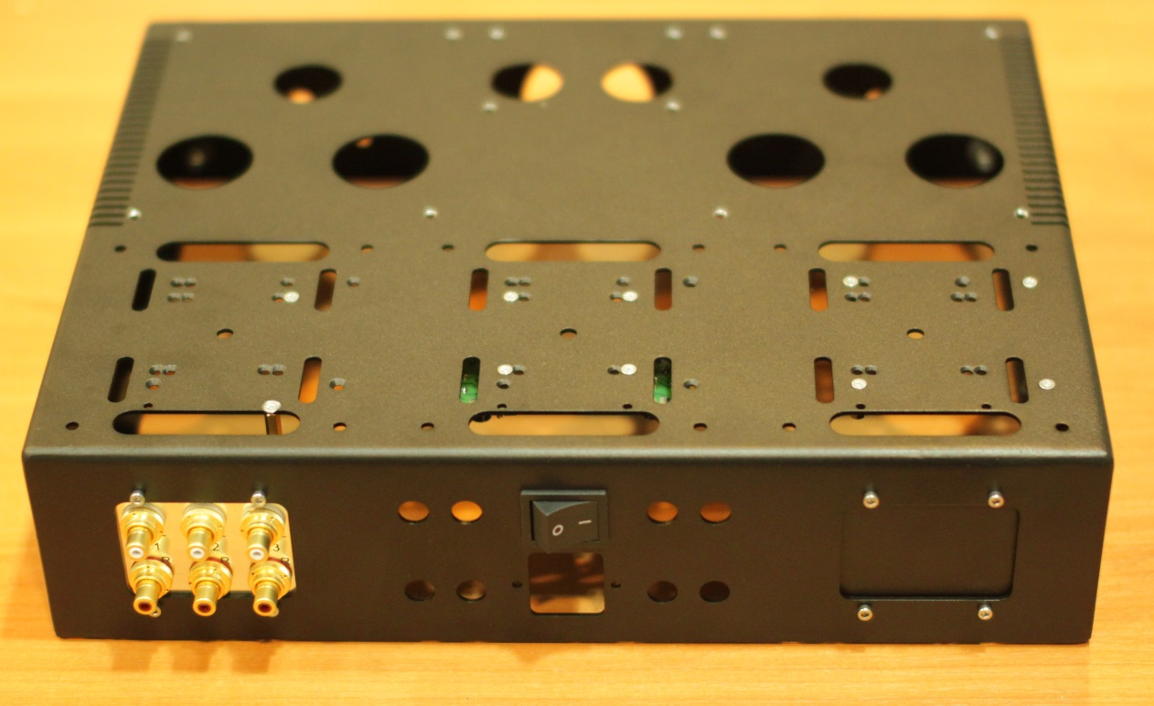 схема лампового стерео усилителя на 6п3с в класс а
